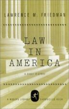 Modern Library Chronicles: Law in America : A Short History by Lawrence M. Frie…
