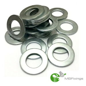 STAINLESS STEEL MARINE FLAT WASHERS BOAT FORM A TO FIT METRIC BOLTS SCREWS A2