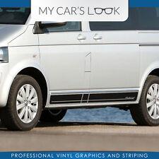 Volkswagen T5 bus Multivan - side stripe decal graphics sticker