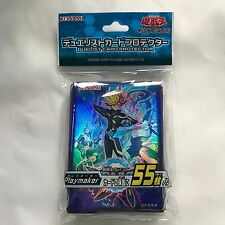 Yu-Gi-Oh Card Protector Playmaker  Konami Officia Card Sleeves  (55 Sleeves)