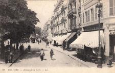 BELFORT 99 LL avenue de la gare vélo hôtel de france écrite