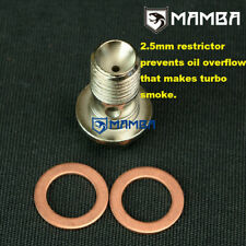 Vauxhall Zafira Astra Z20LEH Z20LET Oil Restrictor Banjo Bolt VXR GSI 2.0 Turbo