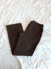 Toast Woman Khaki Soft Velvety Trousers Size 14R