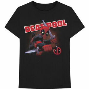 Marvel Comics - Deadpool Cover Men's X-Large T-Shirt - Black