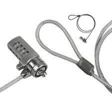 Câble de Sécurité à Combinaison Antivol Ordinateur Portable Code 4 Chiffres