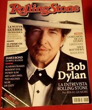 ROLLING STONE MAGAZINE MEXICO BOB DYLAN OCTOBER 2012*LOS STONES*GREEN DAY*MADONN