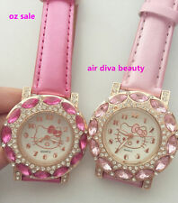 Faux Leather Band Round Watches Child