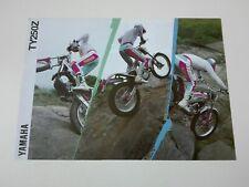 Prospectus Catalogue Brochure Moto Yamaha TY 250 Z 1993