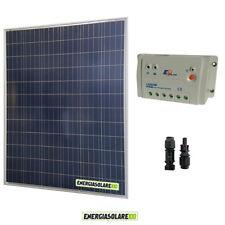 Kit starter pannello solare 200W 12V regolatore di carica 20A PWM LS Epsolar