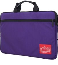 MANHATTAN PORTAGE ( CONVERTIBLE ) LAPTOP BAG/SLEEVE/CASE ~PURPLE  SM : UP TO 15""