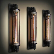 Vintage Long Hall Industrial Style Wall Lamp Lights Home Edison Retro Club Bar