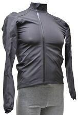 Rapha Hardshell Cycling Jacket Men XS Black Road Mountain Cyclocross Bike MTB CX