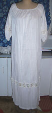 Spring Summer Lounging / House / Night Gown Size Large - Light Weight