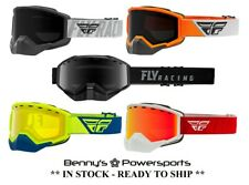 Fly Racing Focus Snow Goggles Dual Pane Lens Snowmobile Snocross Nose Guard