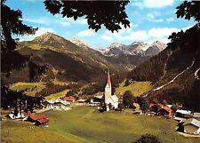 BG13435 kleinwalsertal mittelberg mit schafalpkopfen hammerspitze   germany