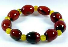 Agate Gemstone Bracelet [F] (12x16mm Beads x9) ** UK