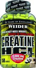 Weider Creatine HCL 150 Kapseln (216 g) (Grundpreis: 18,14 EUR pro 100 g)