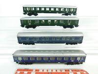 BG738-2# 4x Märklin H0/AC Bastler-Personenwagen A4ümg DB: CIWL 4581 + Pw4ymg