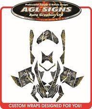 HELL RIDER WRAP  for SKI-DOO XP 2008-12  mxz  summit  renegade  decal