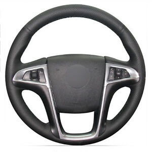 Top Leather Steering Wheel Hand-stitch on Wrap Cover For Chevy Equinox 2010-2016