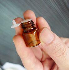 Wholesale 100Pcs Amber Bottle 16x21mm Glass Essential Brown Bottles Vials 1ml