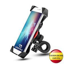 """Soporte para móvil bicicleta Grefay, Universal para Smartphones 3.5""""-6.5"""" con Ro"""