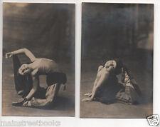Ballet Dancer Photos CHILD BALLERINA in GRACEFUL POSE ?Arabian Princess c1920s