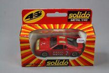 ZC1146 Solido 1327 Voiture miniature 1/43 Lancia Rally Motul N° 7 Rouge