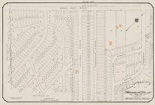 1913, CHARLES E. GOAD, MONTREAL, CANADA, CEDAR CRESCENT, COPY PLAT ATLAS MAP