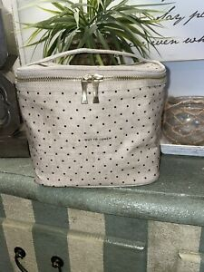 NIP Kate Spade Out To Lunch Tote Bag Box Insulated Deco Dots To-Go Travel