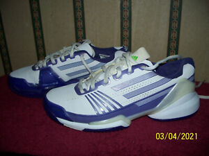 ADIDAS ADIZERO PURPLE AND WHITE WOMEN'S SNEAKERS SIZE 7