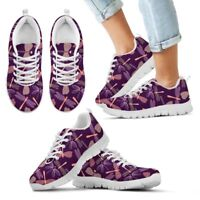 Dragonfly Women's Sneakers - Custom Dragonflies Pattern Design Shoes