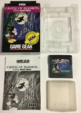 Castle Of Illusion Sega Game Gear CIB Complete Mickey Mouse