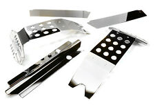 C27189SILVER Integy Metal Complete Skid Plate Kit for Traxxas X-Maxx 4X4