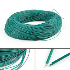 20M Green Flexible Stranded UL1007 24AWG Electronic Wire PVC Cable 300V ROHs