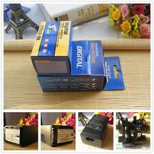 NP-FV100 batterie + chargeur pour Sony HC96 SR220 SX83 DVD910 CX550 Handycam