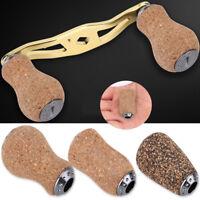 DIY Wood & Metal Handle Knob Tackle For Baitcasting Daiwa Spinning Fishing Reel