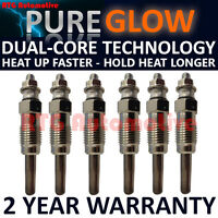 6x Diesel Heater Glow Plugs For Volvo 240 740 760 780 940 960 VW LT 2.4 D TD