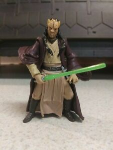 Star Wars Jedi Eeth Koth Hasbro 2000 3.75 Action Figure