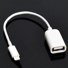 USB-OTG Adapter-Kabel mit 8-pin-Stecker für Apple iPhone 5 – 7 + iPad mini, Air
