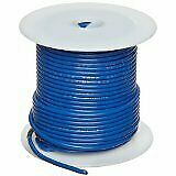 24Awg Mil-W-76D Type Mw Blue Stranded (7X32) Hookup Wire 100 Ft Roll 1000V 80C