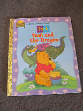 LITTLE GOLDEN BOOK...Hardcover    book...1997 Pooh and the Dragon, Winnie