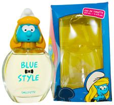 Blue Style Smurfette by The Smurfs For Kids EDT Perfume Spray 3.4oz Damaged box