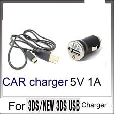 CAR POWER AC CHARGER CABLE  for Nintendo DSi NDSi DSiXL 3DS 3DSXL/LL NEW3DS/ oly