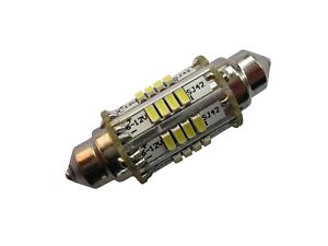 LED Lampe Birne warm Festoon Soffitte 42 mm 6V C10W C18W Blinker Stopplicht MZ
