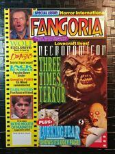 FANGORIA #135 NECRONOMICON - WOLF - DEMONS 3 - DARK WATERS - PLAN 9 - HORROR