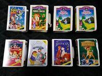 Walt Disney Masterpiece Collection Figure Lot of 8