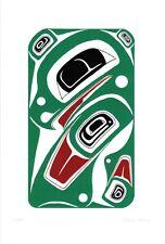 Eagle Danny Dennis Art Card Tsimshian Northwest Coast Native