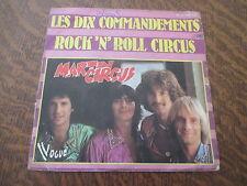 45 Tours Martin Circus - Les dix commandements