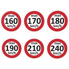 Geschwindigkeitsaufkleber Winterreifen V-Max 160 - 240 km/h nach § 36 StVZO